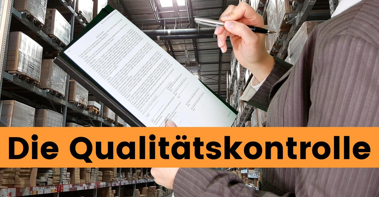 Produktqualität prüfen Qualitätskontrolle Amazon FBA