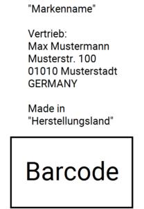Zolltarifnummer finden und Barcode erstellen