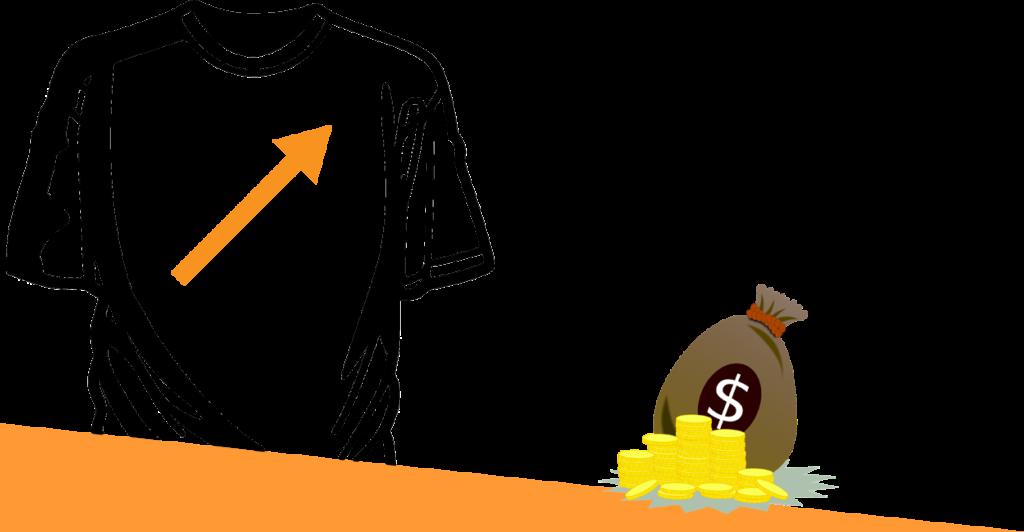 T-Shirt Verkauf Geschäftsmodell